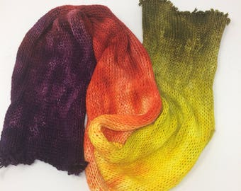 Double Knit sock blanks, make two matching socks or wrist warmers