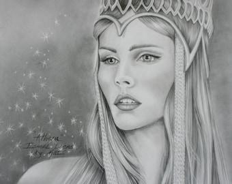 Isabel Lucas, Athena, Immortals