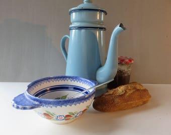 """Beautiful Double Filter Coffee Maker - 40 '- """"La Bourbonnais Vichy"""" - -Decor"""