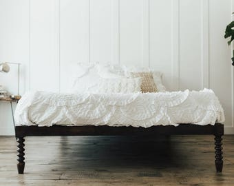 Antique Minimalist Bed Frame