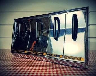 Vintage Chrome Wall-Mount Kitchen Dispenser...