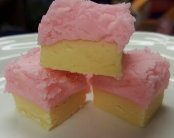 PINK LEMONADE FUDGE Gourmet Candy Fudge 1/2 pound