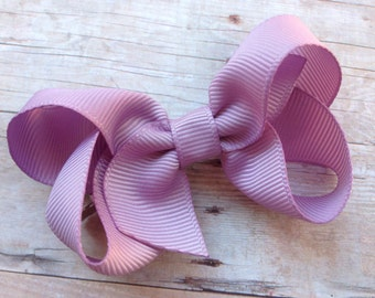 Lavender hair bow - hair bows, girls bows, baby bows, girls hair bows, hair bows for girls, toddler hair bows, hair bow, hair clips, bows