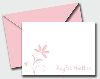 KAYLEE Personalized Notecards - Set of 10