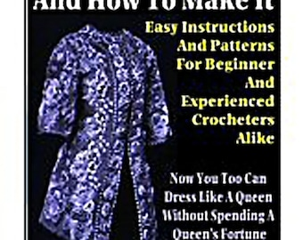 The Art of Irish Crochet .... eBook (PDF file)