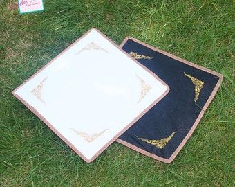 1 anti-sliding 29x29cm, faux fur rug