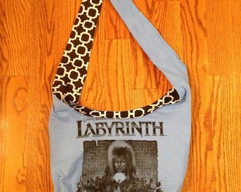 David Bowie Labyrinth Crossbody Bag