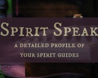 Spirit Speak - Spirit Guide Profile Reading - Recorded Call Digital File