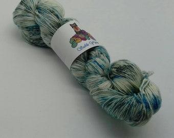 80/20 Superwash Merino/Silk high twist sock yarn: Industrial