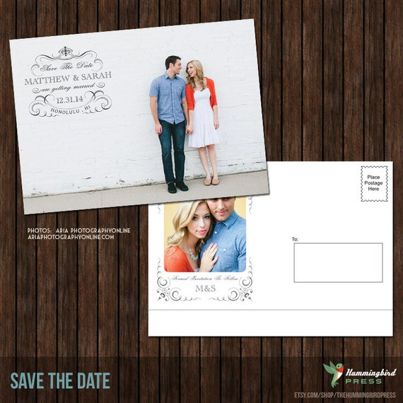 Template For Save The Date Postcards Boatjeremyeatonco - Save the date postcard template