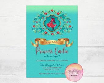 Princess Elena of Avalor Birthday Invitation - Elena Party Invite - DIY Printable Digital Invite