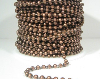 3.2mm Ball Chain - Antique Copper - CH97-AC