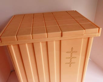 Mid Century Clothes Hamper.