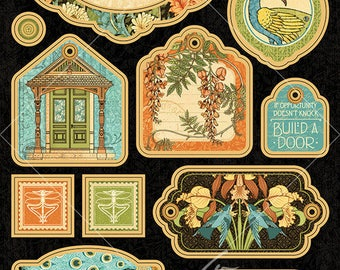 CLEARANCE SALE!  Graphic 45 Artisan Style Chipboard