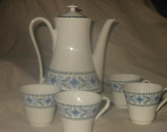 Royal Porcelain, Porcelane, Tea Set, Chocolate set,Coffee set, pot with cups,vintage