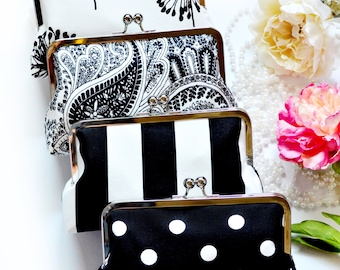 Bridesmaids Gift Clutch Personalized Your Set Clutches Gift Handmade Bags Bachelorette Party Customize Wedding Handbags Monogram Clutch