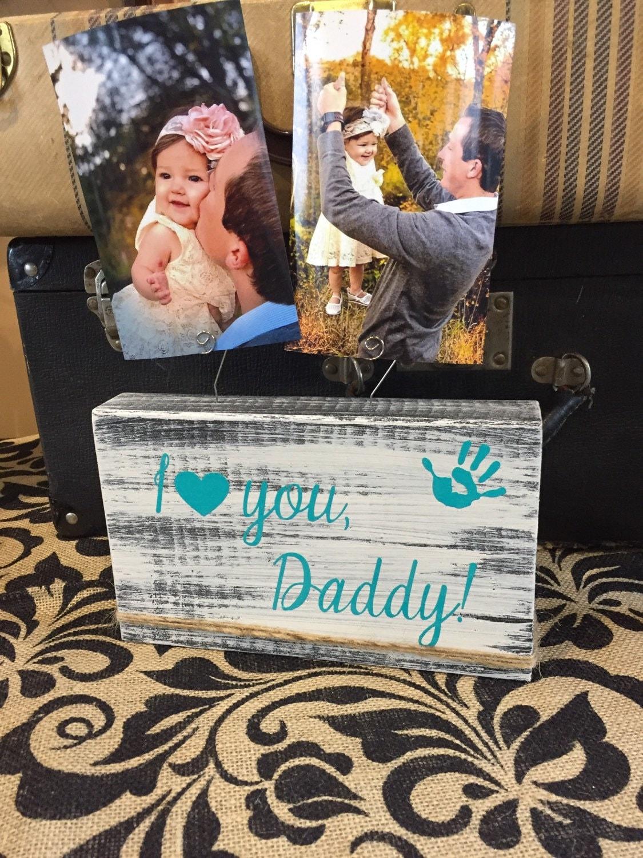 Vatertagsgeschenk ich liebe mein Papa Papa Bilderrahmen aus