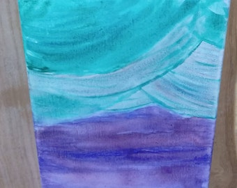 Balance Abstract Expression Watercolor Canvas