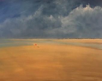 Beach Day: Low Tide