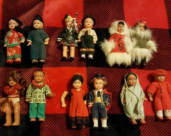 Vintage Dolls of the World