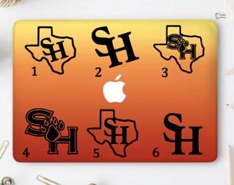 SHSU Decals, SHSU Yeti Decal, SHSU Cup Decal, Laptop Decal, Car Decal, Bumper Sticker