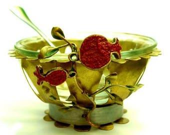 Pomegranate Honey / Charoset Dish