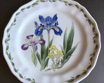 Noritake Gourmet Garden Iris Dinner Plate Vintage Floral China ~ #M1049