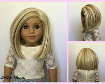 Zazou Dolls Sweety WIG for 18 Inch dolls such as Journey, Our Generation and American Girl