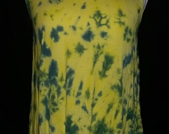 Tie dyed tank top large