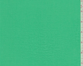 Emerald Green Polyester Lawn, Fabric By The Yard