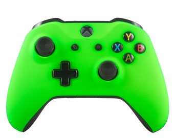 New Microsoft Xbox One S Wireless Bluetooth Controller Custom Soft Touch Green
