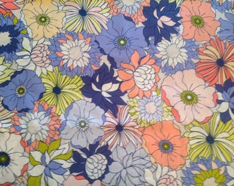 Flower Bed Iris from Chic Flora by Art Gallery Fabrics, five yards