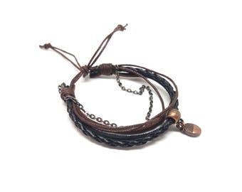 Bracelet femme automnal