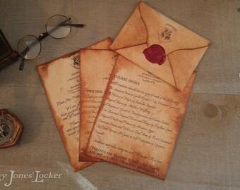 CUSTOM - Acceptance letter - Full kit