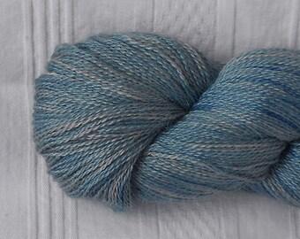 Pool alpaca/silk laceweight yarn