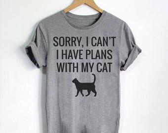 Funny Cat Shirts, Cat Mom, Cat Lady Gift, Cat Apparel, Cat Tee For Women, Cute Cat Tshirt, Cat Shirt, Cat Lover Shirts, Cat Gift - Style 4