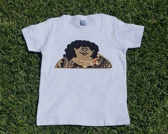 Maui Shirt - Moana Maui Shirt