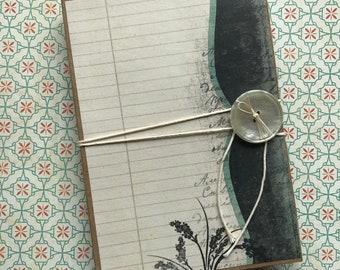 Handmade Vintage Birds and Flowers Junk Journal/Mini Album