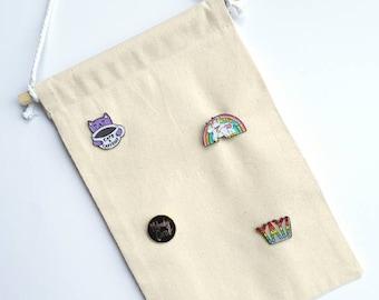 Pin Banner | Plain Enamel Pin Banner | Wall Hanging | Display Banner