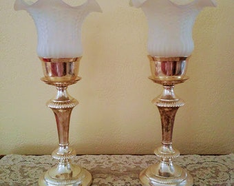 shade antique lamp and glass lamps best tulip style floor of lily g s shades