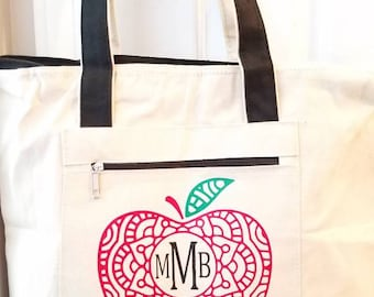 "Personalized 18"" Tote Bag"