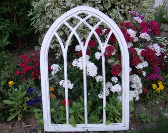 """35"""" Tall Laced Cathedral Window Frame"""