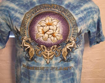 Size S (41) ** Robert Plant 1990 Concert Shirt (Double Sided) (Deadstock Unworn) **