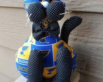 St. Louis Blues Hockey Cat