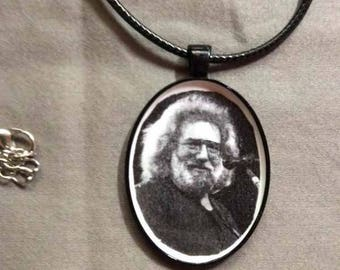 Key chains/necklaces - Grateful Dead -Jerry Garcia - 60s 70s classic rock jewelry