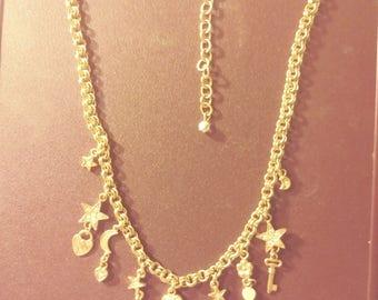 Vintage Kirks Folly Charm Necklace