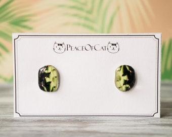 cactus jewelry , cactus studs , southwest earrings , succulent jewelry , succulent earrings , cactus earring , cactus gift