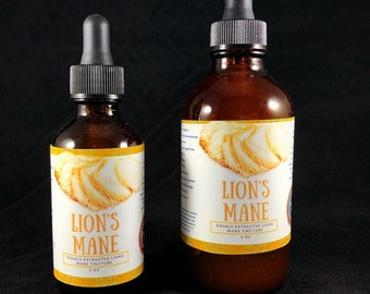 Lion's Mane Double Extracted TIncture