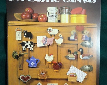 Magnets Go Country in Plastic Canvas Pattern Leaflet Leisure Arts 364