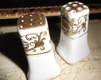 Porcelain Japan Salt and Pepper Shakers
